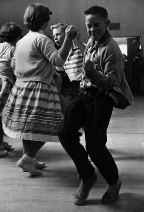Танец модерн вводился в качестве учебной дисциплины, США, 50-е годы.