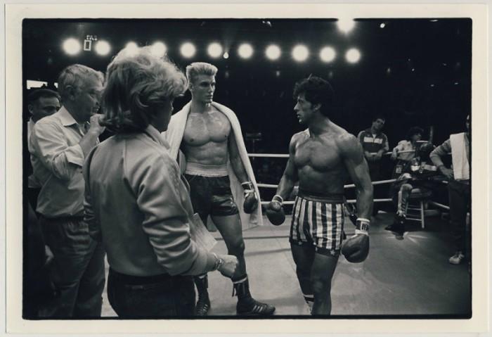 В процессе съёмок фильма «Рокки-4» Сталлоне предложил Дольфу Лундгрену, исполнявшему роль советского боксёра Ивана Драго, драться по-настоящему, чтобы сцена боя выглядела максимально правдоподобно.