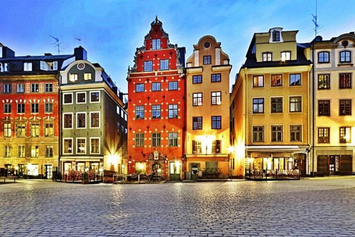Самая древняя часть Стокгольма.