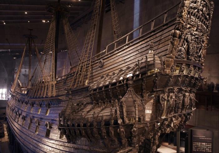 Единственный хорошо сохранившийся корабль 400-летней давности.