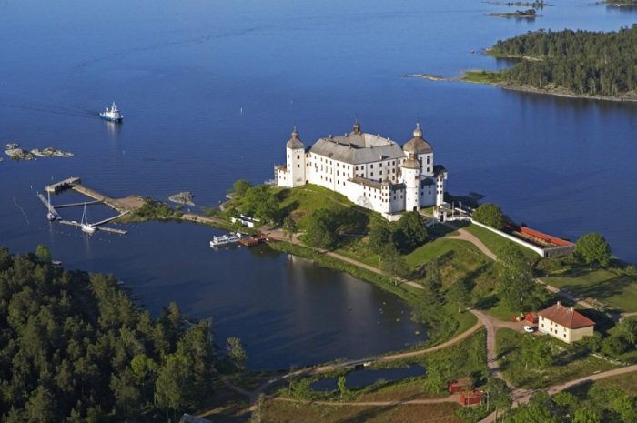 В Швеции сохранилось много замков.