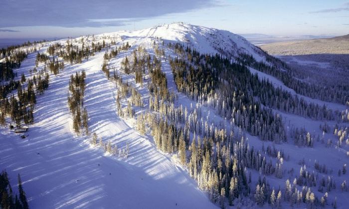Горнолыжные курорты Швеции понравятся и новичкам, и опытным лыжникам.