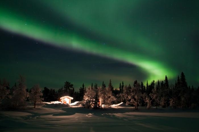 Самый северный город Швеции.