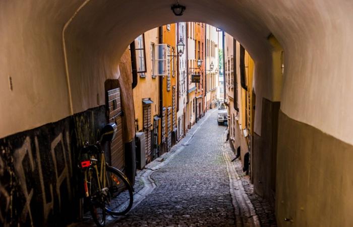 Уютные улицы в старых кварталах.