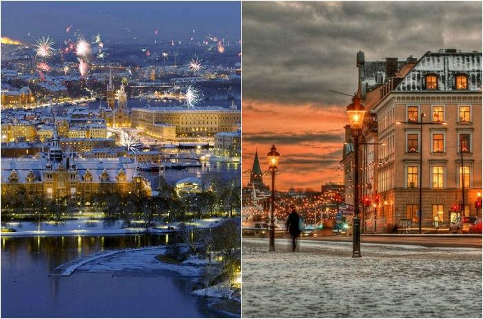 Швеция – страна, где можно окунуться в зимнюю сказку.