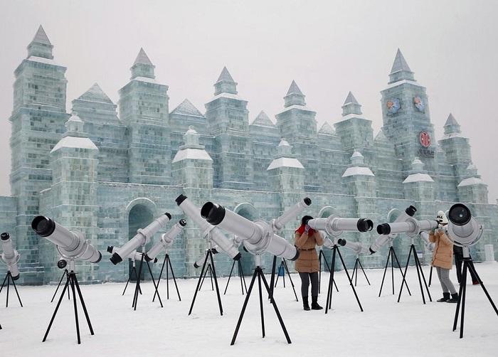 Телескопы служат для рассматривания объектов под большим углом.