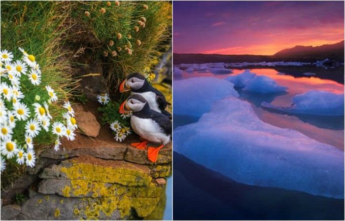 Альберт Дрос (Albert Dros) сфотографировал волшебные ландшафты Исландии.