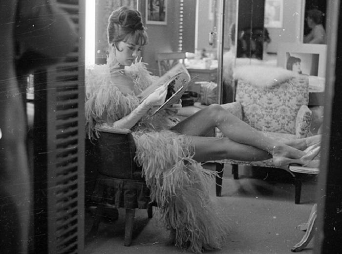 Известная кинозвезда 50-60-х годов двадцатого века.