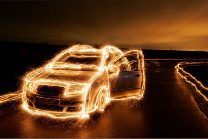 Потрясающая светографика JogiART.