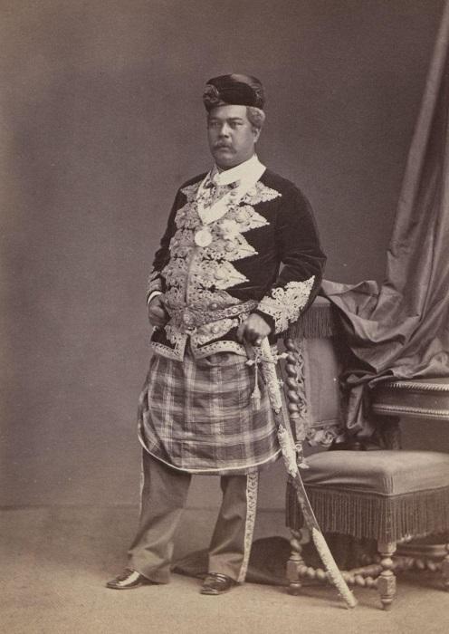 Представитель английской династии Брук.