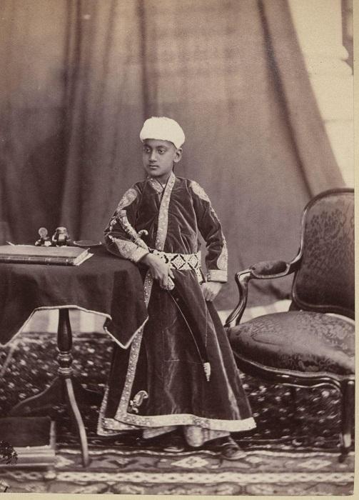 Юный махараджи.