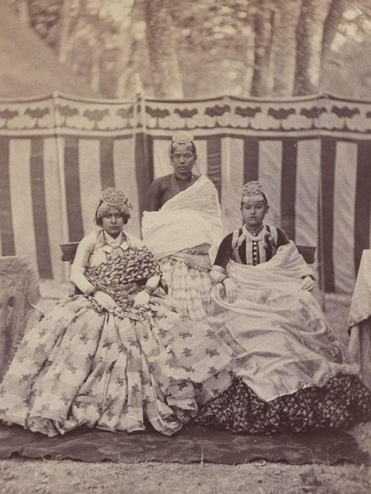 Местные жители в фотопроекте, посвященном Индии.