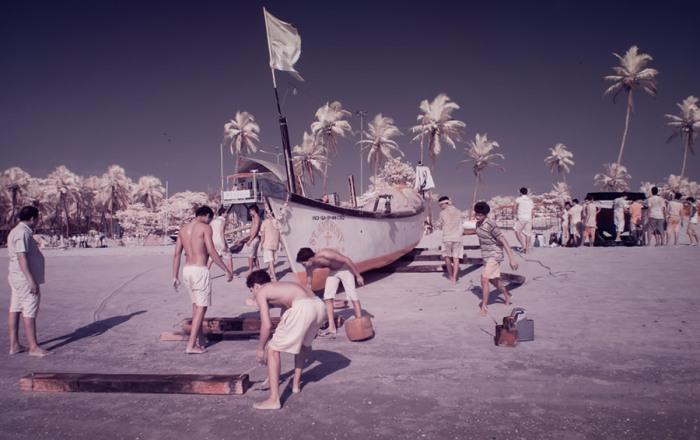 Рыбаки и лодки являются неотъемлемой и наиболее характерной частью пейзажа Гоа, но теперь их можно увидеть в новом цвете.