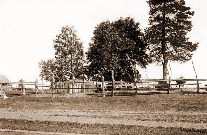 Деревянные изгороди вдоль бесконечных дорог.