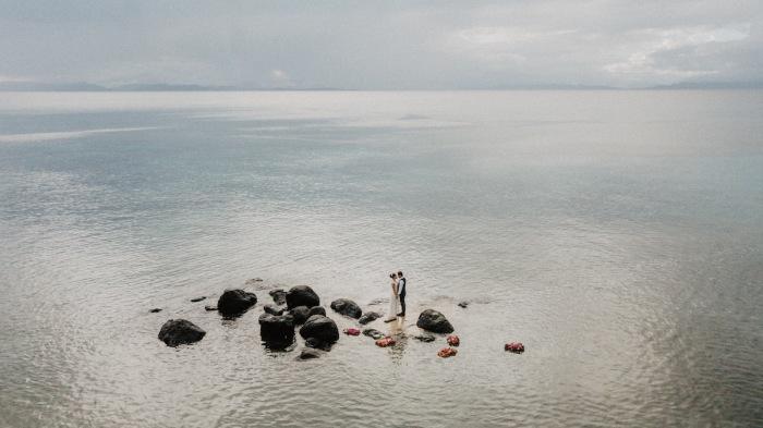 Автор снимка, вошедшего в топ-10 категории «С воздуха», - Ропате Кама (Ropate Kama) из Фиджи.