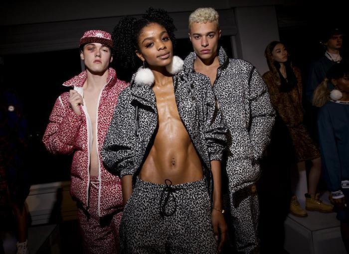 Дизайнер Joyrich представил свою одежду на Неделе моды в Нью-Йорке.