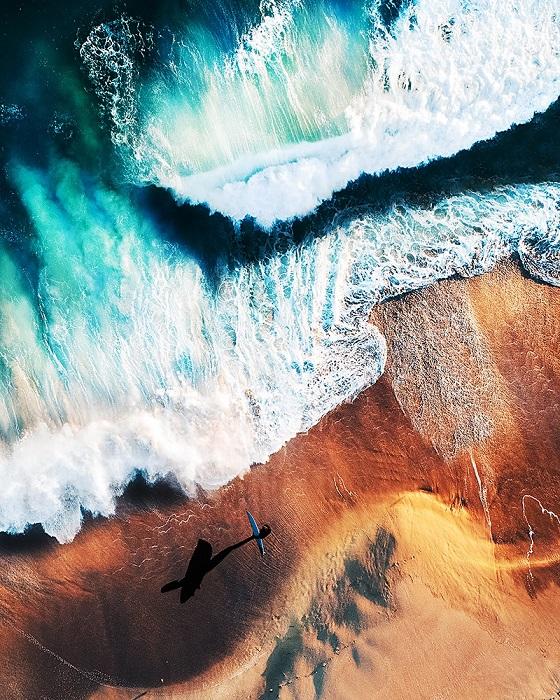 1-е место в категории «Природа: С воздуха / Профессионал» занял американский фотограф Эмили Каштон (Emily Kaszton).