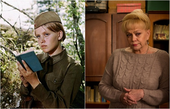 Советская и украинская актриса театра и кино, известность ей принесла роль зенитчицы Риты Осяниной в телефильме «А зори здесь тихие».