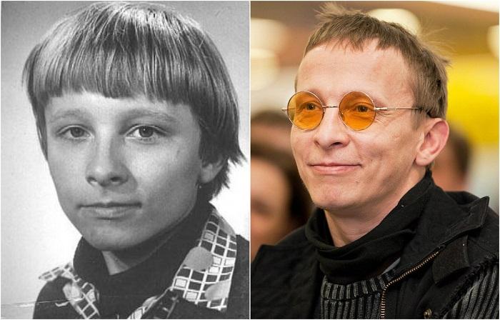 В 4-м классе из-за неуспеваемости по русскому языку будущему актеру и сценаристу пришлось съесть… учебник!