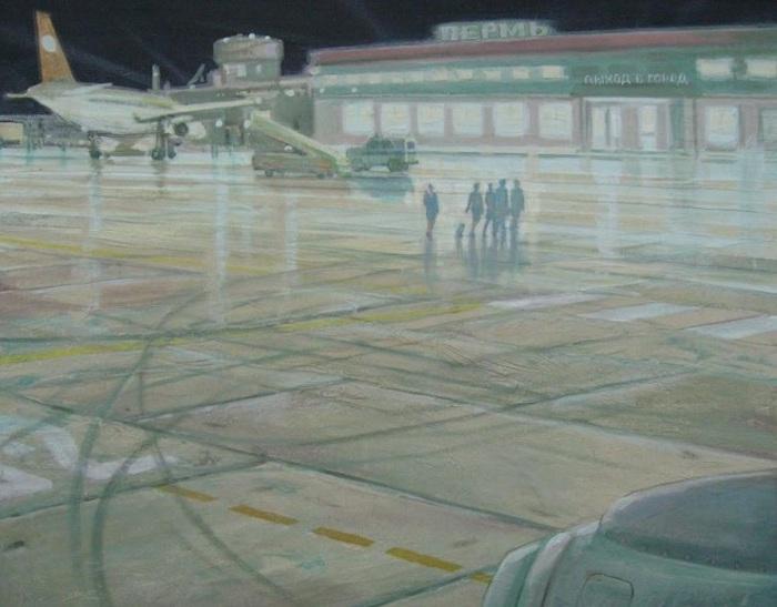 Глущенко Николай Григорьевич (Россия, 1954), «Возвращение на родину» 1990
