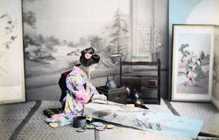 Жизнь японцев во второй половине 19 века.