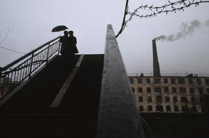 Котельная. Порт Провидения, Берингов пролив, 1991 год.