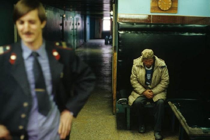 Вытрезвитель. СССР, Норильск, 1993 год.