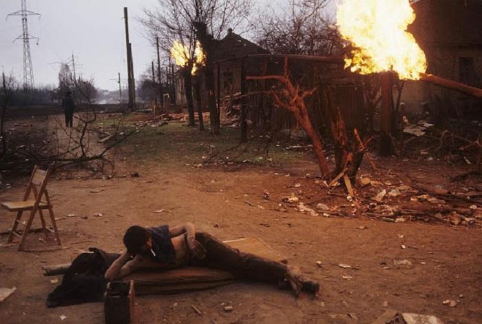 Начало первой чеченской войны. Грозный, 12 января 1995 года.
