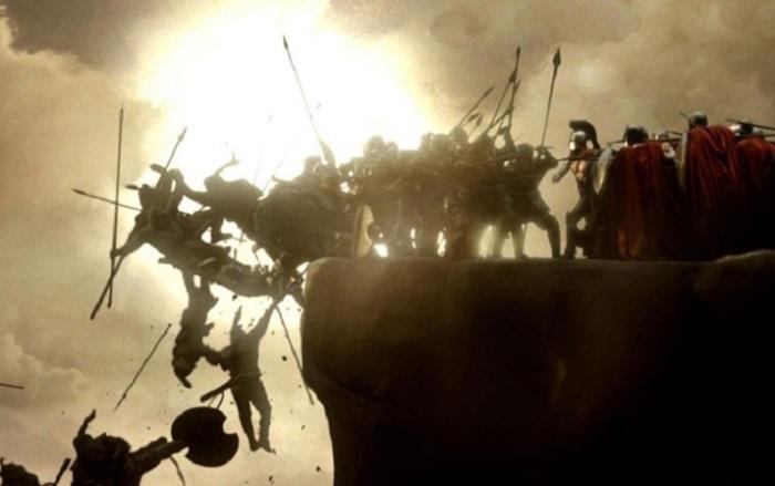 Кадр из художественного фильма американского режиссера Зака Снайдера (Zack Snyder).