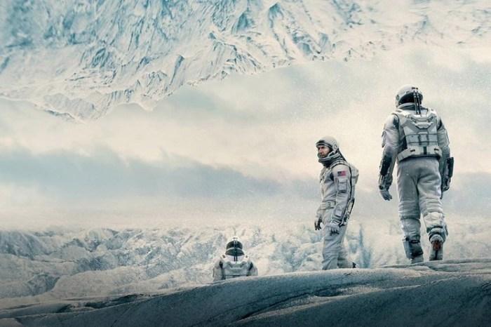 Кадр из научно-фантастического фильма британо-американского кинорежиссера Кристофера Нолана (Christopher Nolan).