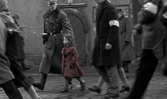 Кадр из исторической драмы, снятой американским кинорежиссером Стивеном Спилбергом (Steven Spielberg).