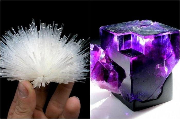 Невероятно красивые и редкие камни и минералы.