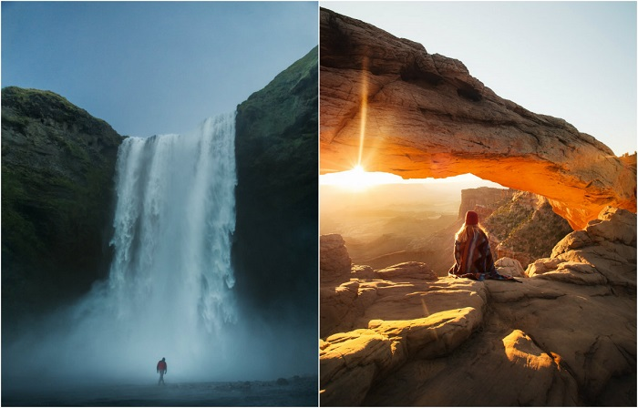 Приключенческие фотографии, снятые художником и фотографом Карлом Шакуром.