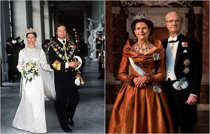 Король Швеции сосредоточил свои усилия на представлении страны на мировой арене.