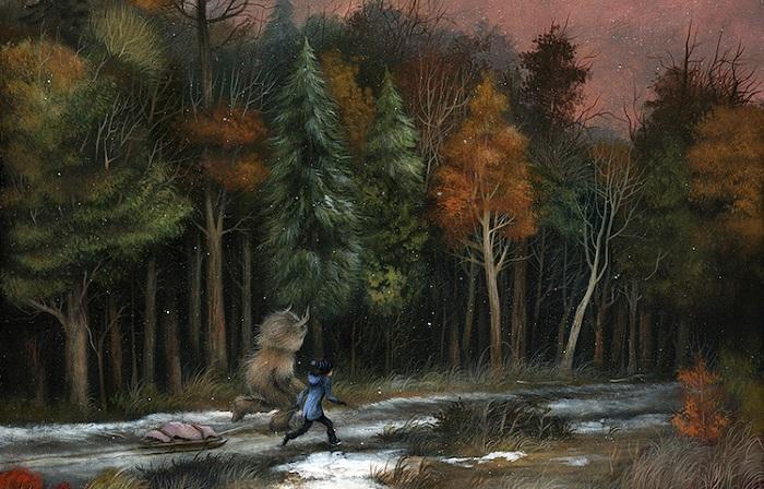 Яркие образы в работах современных художников.