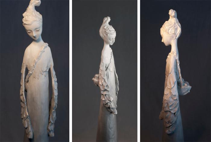 Автор скульптуры – корейская художница Эми Сол (Amy Sol).