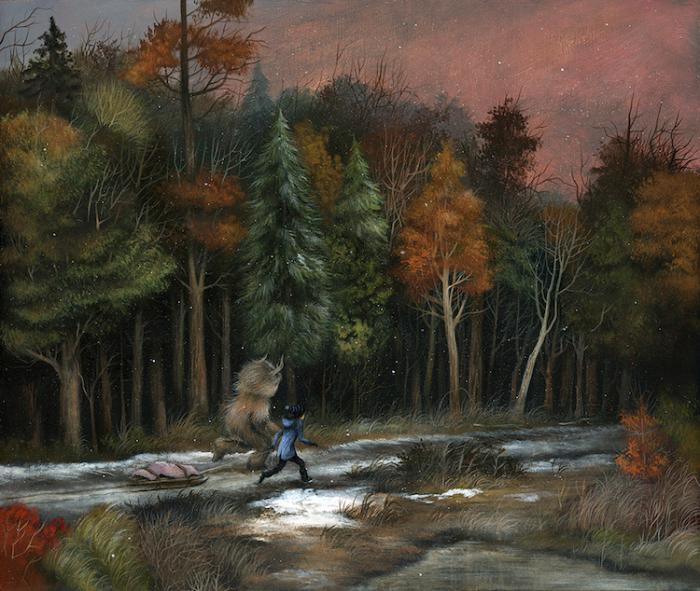 Автор картины - американский художник Дэн Мэй (Dan May).