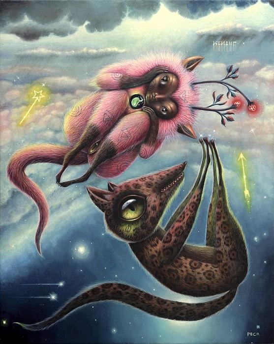 Автор картины – художник под псевдонимом Peca.