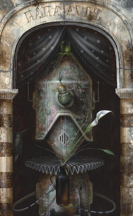 Автор картины – художник-абстракционист Джонни Родригес (Johnny Rodriguez).