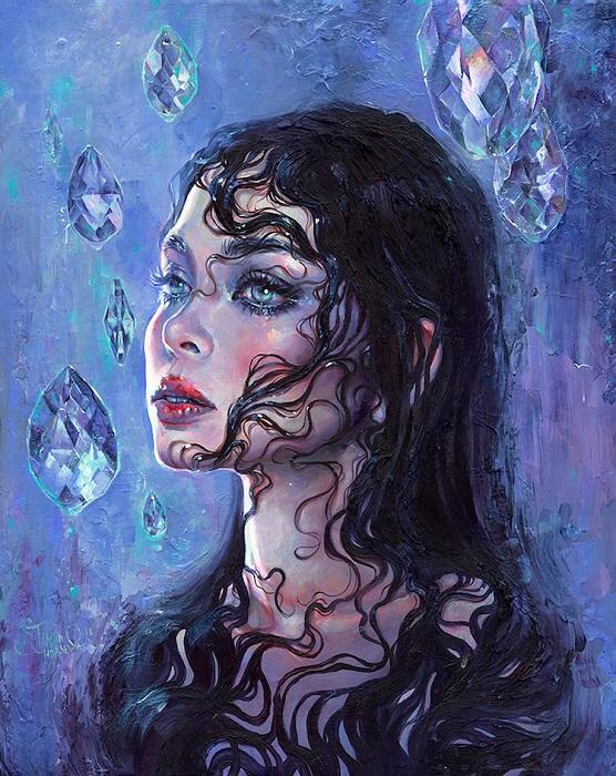 Автор картины – российская художница Таня Шацева (Tanya Shatseva).