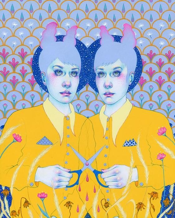 Автор картины – норвежская художница Натали Фосс (Natalie Foss).