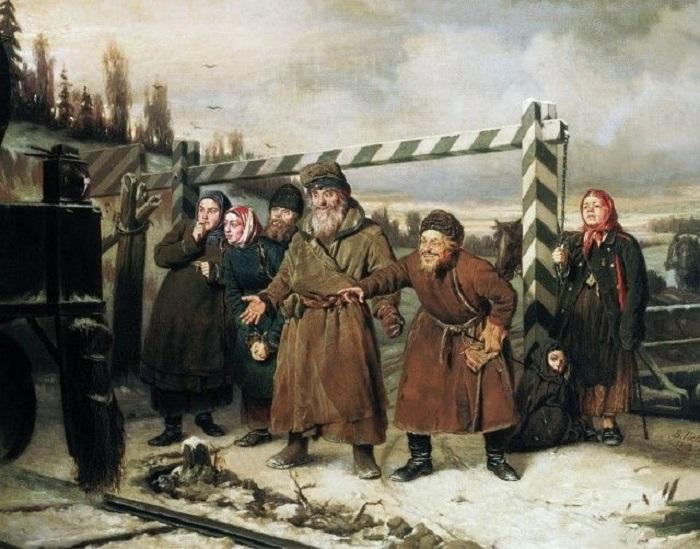 Картина, на которой мастер блестяще передает эмоции героев сцены.
