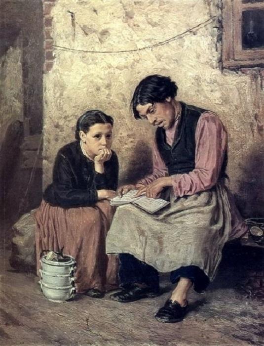 По картинам Перова с документальной точностью можно изучать жизнь людей XIX века.