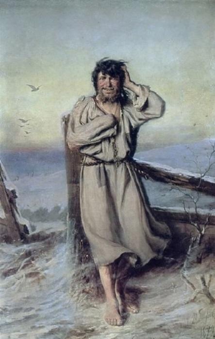 Полотно относится к серии «евангельских» картин, созданных автором под влиянием печальных обстоятельств жизни.