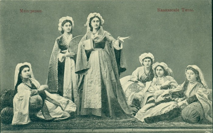 Самая большая по численности группа грузин.