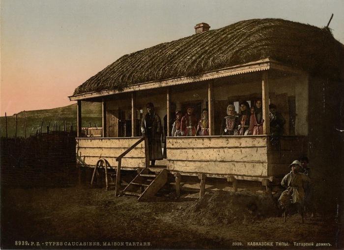 Скромное жилище татарской семьи.