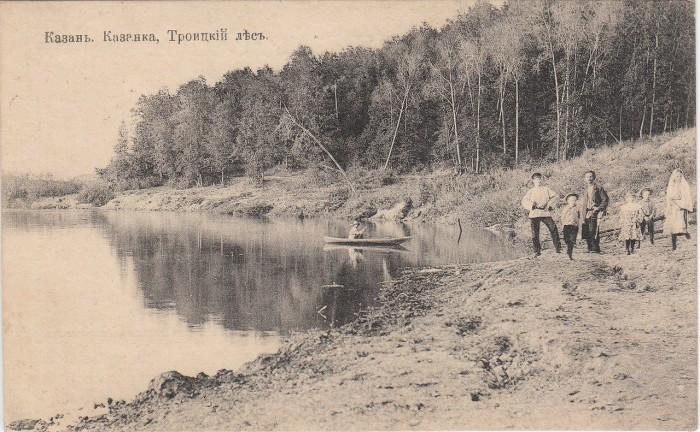 Берег реки Казанки.
