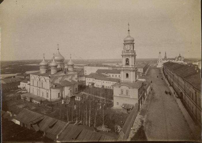 Единственный из сохранившихся пяти монастырей Казани.
