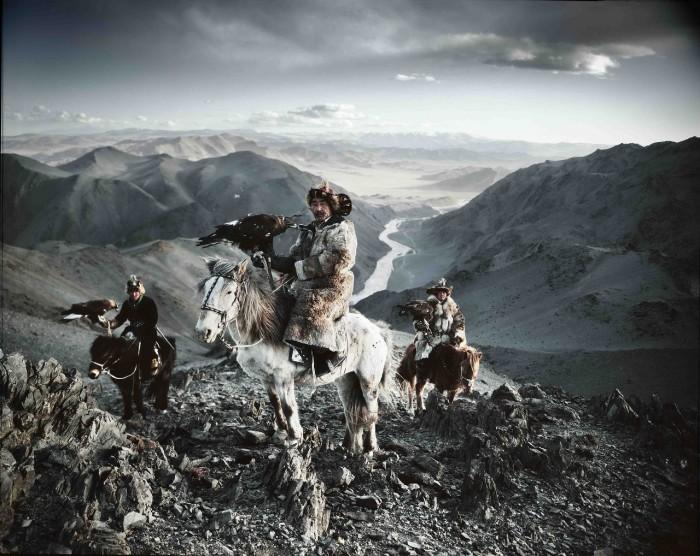 Казахи Баян-Улгийского региона Монголии.
