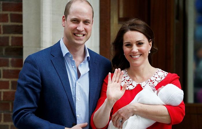 Кейт Миддлтон герцогиня Кембриджская 23 апреля родила сына - принца Луи Кембриджского.